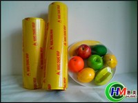 PE plastic stretch film for food package