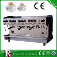 Delicious coffee making, coffee machine 3 group sale