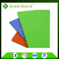 Greenbond metal wall cladding partition materials for building construction in china