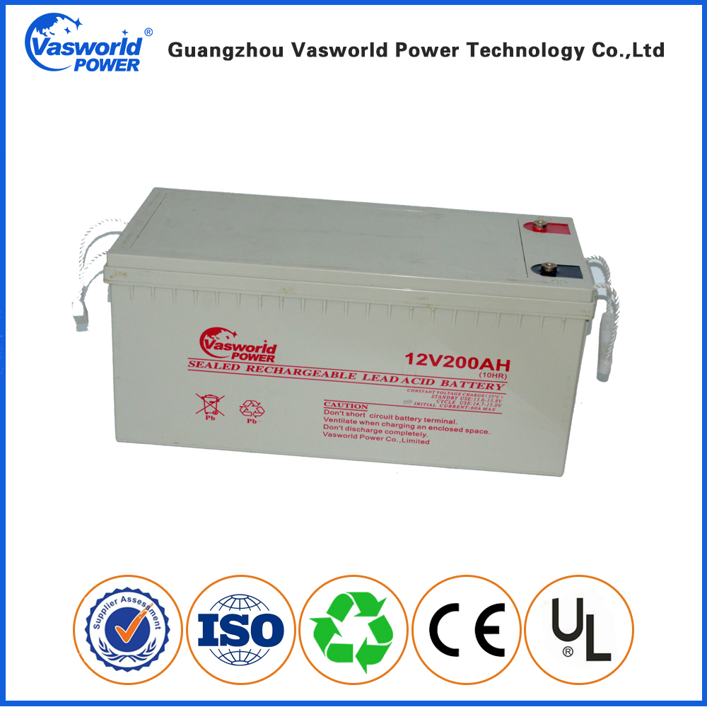 Best Price 12V 200Ah Rechargeable Sealed Lead Acid Battery
