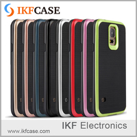 Special design and slim 2 in 1 combo phone case with various colors for Samsung Galaxy S5