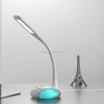 LED 1000lux desk lamp light flexible and foldable desk lamp light led