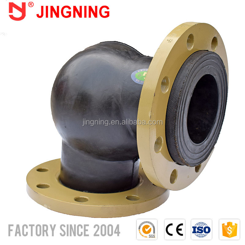 Manufacturer direct selling flexible rubber elbow expansion joint