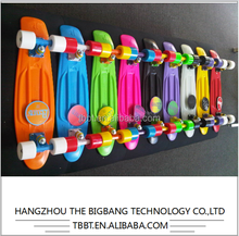 HANGZHOU THE BIGBANG B-100 Type Plastic deck Mini Cruiser Skate Fish skate board wholesale cheap price