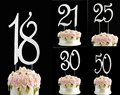 2018 number birthday cake topper happy birthday cake topper cake topper wholesale