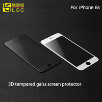 Hot Selling High Quality Anti-Fingerprint Waterproof 3D Screen Protector With Design For Iphone 6s