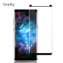 CTUNES 9H Hardness 3D Curved Edge Full Coverage Tempered Glass Screen Protector For Samsung Galaxy Note 8