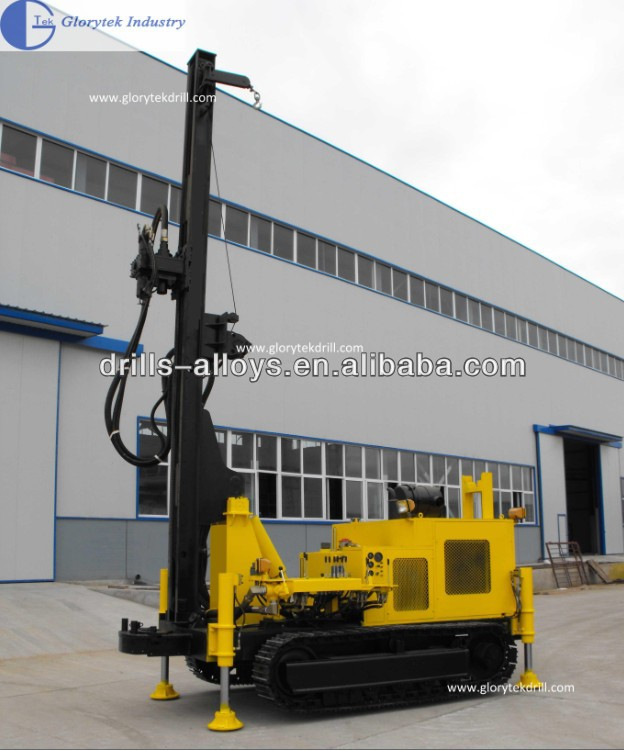 S200 crawler mounted borehole water well drilling equipment