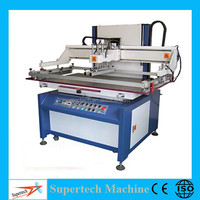 Large Format Flat Semi Automatic Screen Printing Machine
