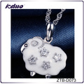 Latest design 925 Sterling Silver chain necklace for women