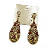 fashion indian gold jhumka earring wholesale C23-A218