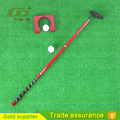 Novelty Cheap classic portable indoor golf putter set