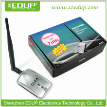 802.11b/g 1000mw awus039nh Alfa 802.11g High Power Wireless usb Wifi Adapter with 5dBi Detachable Antenna