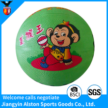 Children Cute Cartoon Pictured Custom Printed Basketball With Story