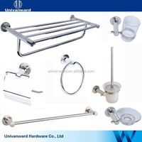 SUS304 polish hotel bath room accessory set