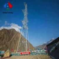Galvanized Transmission Line 4 Legged Tower