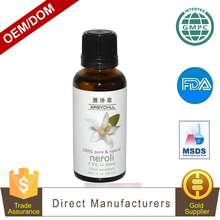 Nature elements 100% pure neroli essential oil best brand With OEM service