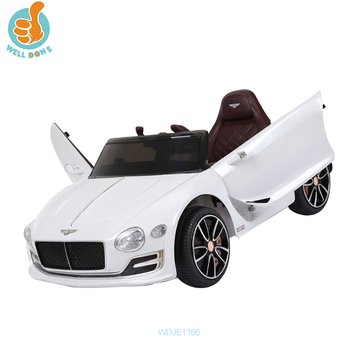 WDJE1166 Licensed Electric Bentley Ride On Car For Kids To Driving