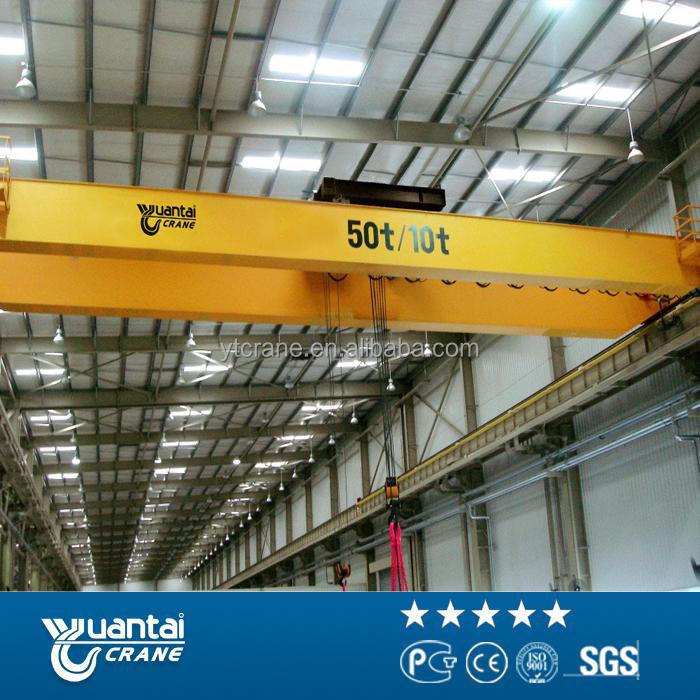 High Quality Heavy Duty Workshop electric travelling overhead crane price