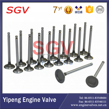 Auto Engine valves 13711-1360 intake and 13715-1470 exhaust valves for Hino Bus RC Eng.ER100/200