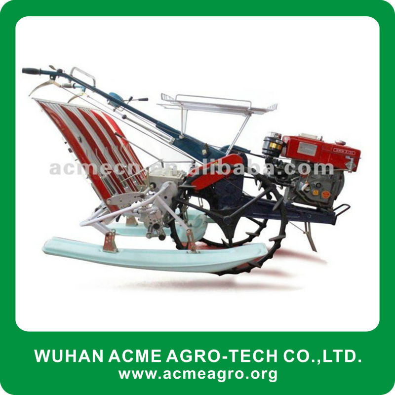 4 row 5hp diesel walking type rice transplanter