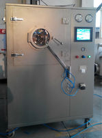 CQJG BGB CE/ ISO Certificated GMP Requirement Small Chocolate Coating Machine