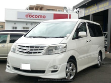 japanese and Good looking toyota alphard japan used car
