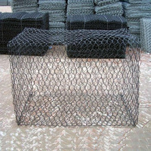 Direct factory PVC coated gabion mesh or gabion baskets for sale