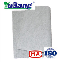 polyester blended anti-static waterproof and oil proof water and oil repellent needle punched nonwoven fabric filter cloth