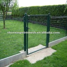 Swing mets lfence gate and trellis