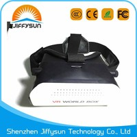 2016 hot sales sex video vr box, vr 3d glasses, vr box 3.0 for iPhone 6 6s 6 plus Samsung S6