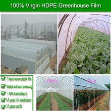 100% new material transparent greenhouse film,greenhouse uv plastic,200 micron greenhouse film