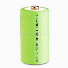 Rechargeable 1.2v SC 3600mAh Flat Top NiMH battery