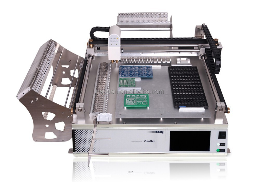 NeoDen 2015 new desktop SMT pick and place machine TM245P--50 feeder or customized feeder
