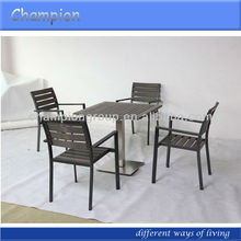 outdoor furniture with polywood slate patio furniture dining set