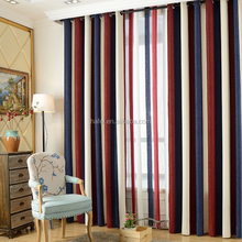 Hot selling custom design colorful blackout security curtains for windows