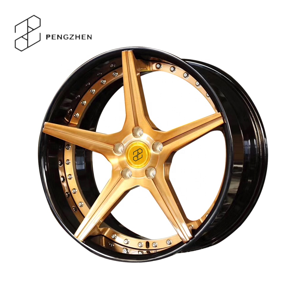 2 Piece Forged 5 Spoke Concave Alloy <strong>Wheels</strong>