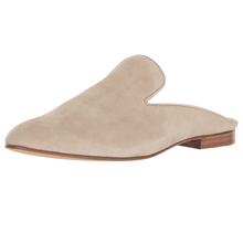 Most Fashionable Low Block Heel Pointed Toe Women Shoes High Quality Suede Upper Slip On Closure Custom Slipper