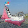 Giant commerial inflatable water slide with pool for big sale