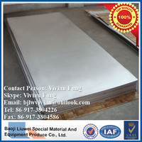 high quality astm b265 polished titanium sheet for sale