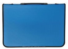 Zippered Plastic file briefcase