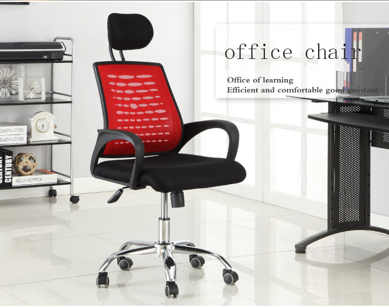 D28 Foshan high back mesh computer office chair with headrest