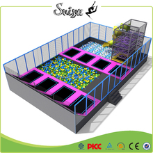 Xiaofeixia Indoor Trampoline Park program with slam and foam pit