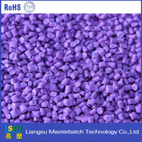 Color purple masterbatch polylactic Acid resin PLA granules PLA plastic raw material
