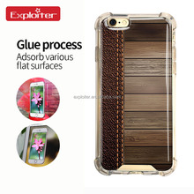 High quality new fashion diamond tpu pc protective case for iphone 6