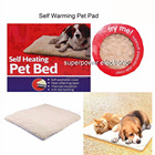 Self Heating Thermal Pet Dog Cat Bed Cushion Pad Heated Mat Super Warm Rug Washable