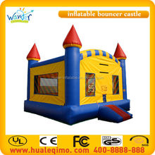 PVC tarpaulin material made inflatable bouncer/Cheap inflatable bouncy castle for sale
