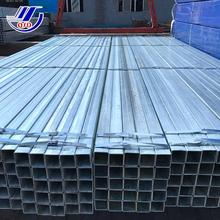 Galvanized steel furniture square tubing pipes or piping prices