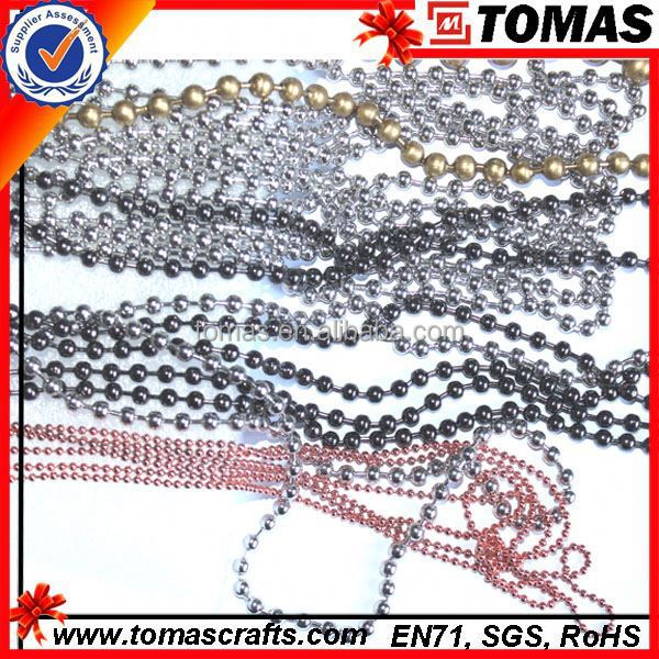 Guangzhou custom swivel bead ball chain