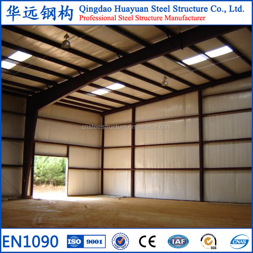 Chinese Prefabricated Light Structural Steel Construction Warehouse